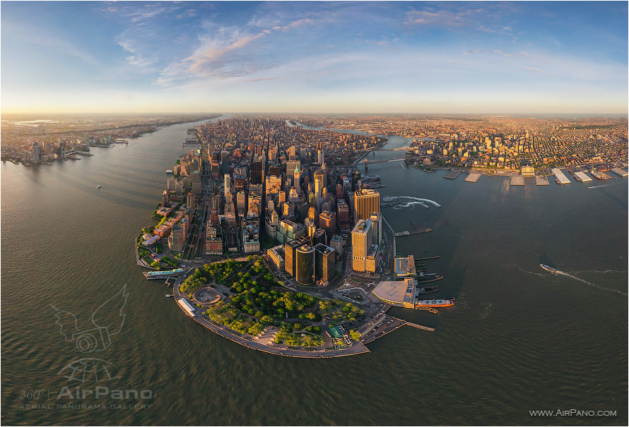 USA, New-York, Manhattan. «Financial District» • AirPano.com • Photo