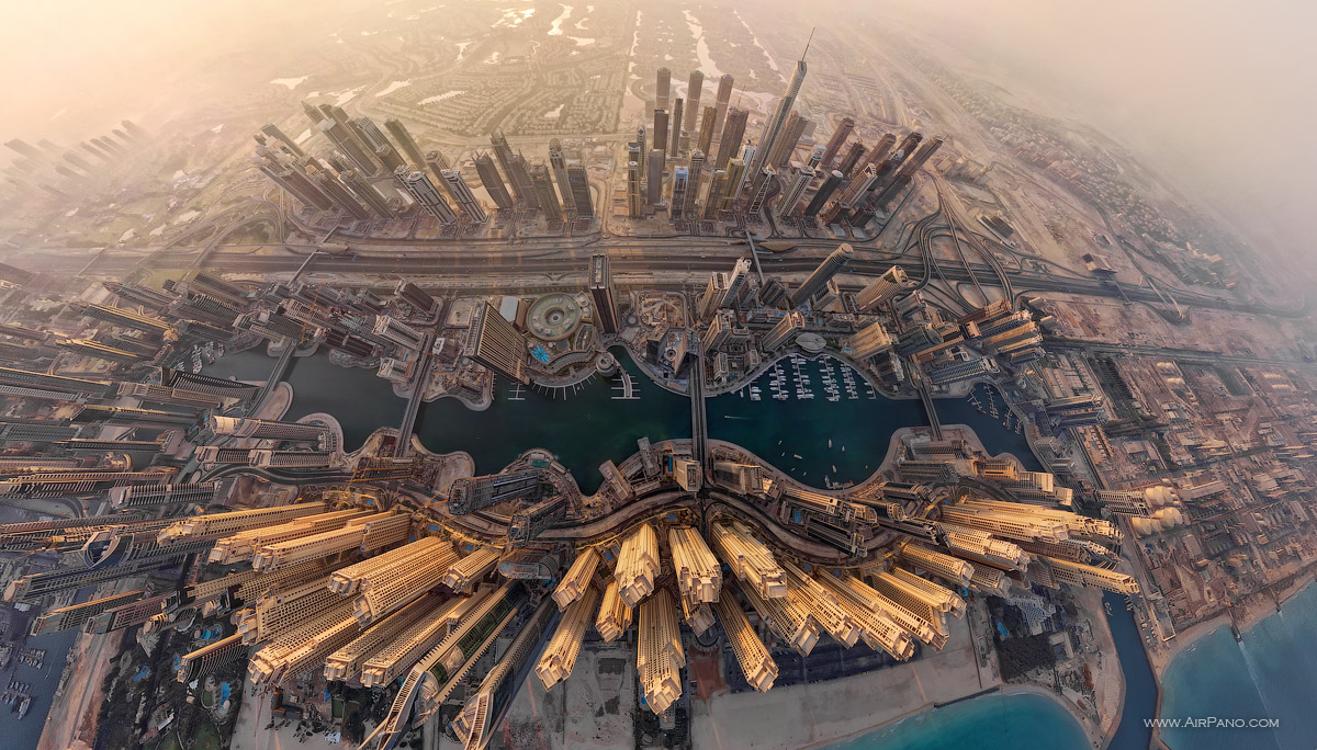 Dubai City #3 • AirPano.com • Photo
