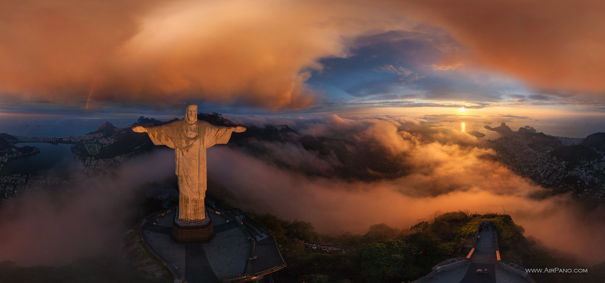 Christ the Redeemer Statue #1 • AirPano.com • Photo