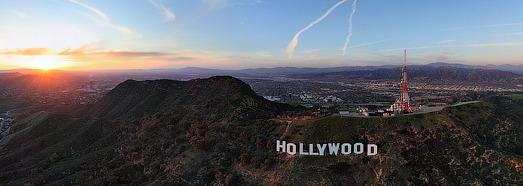 Голливуд, США - AirPano.ru • 360 Градусов Аэрофотопанорамы • 3D Виртуальные Туры Вокруг Света