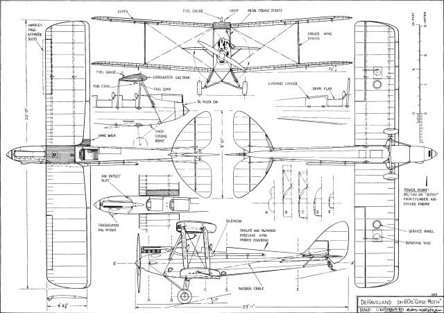 Download De Havilland DH60 Moth