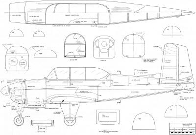T-34B Mentor Plans, February 1968 American Aircraft