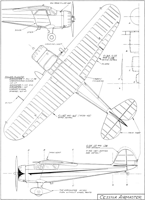 Cessna Airmaster Article Article & Plans, May 1974