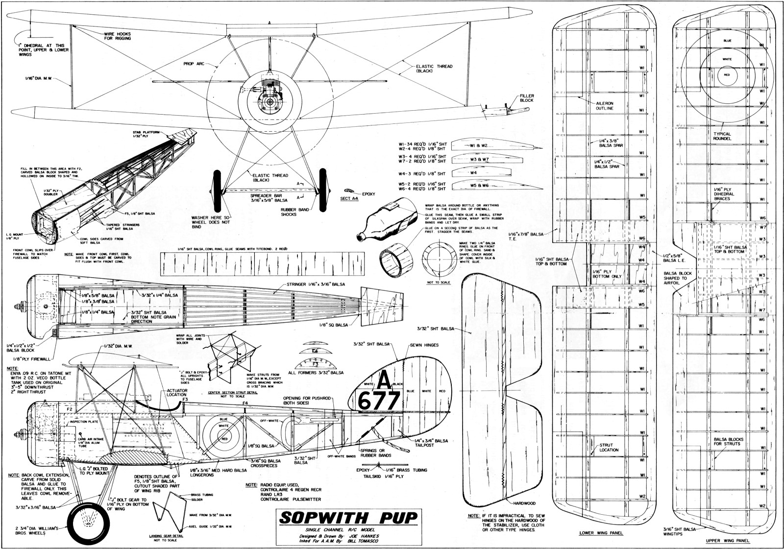 Sopwith Pup Article Amp Plans June American Aircraft