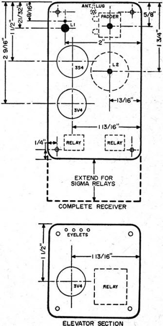 Simple Dual Proportional R/C System, September 1956