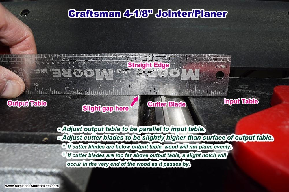 Craftsman Wood Planerjointer
