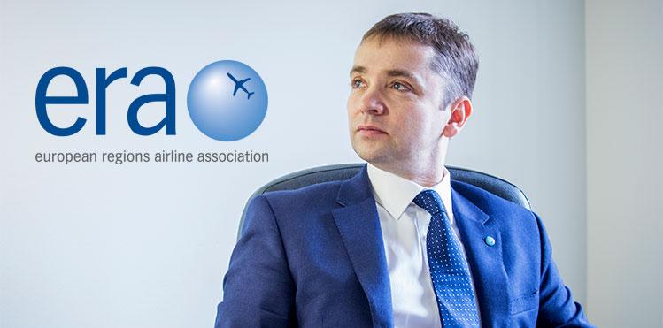 Simon McNamara, director general de la Asociación de Líneas Aéreas Regiones de Europa (ARE)