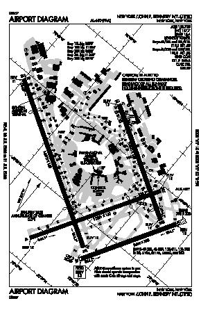 Kjfk Airport Diagram