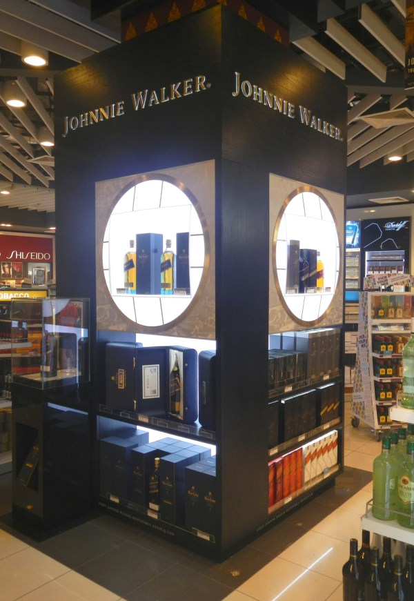 Travel Retail Liquor Displays