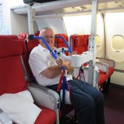 Step 2 Chair Umbrella Clamp Eagle Passenger Lifter (eagle2lifter) - Haycomp Pty Ltd
