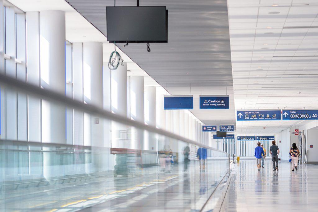 Charlotte Douglas International Airports Concourse A Nine