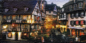 Colmar christmas market with Airport-Taxiservice Basel