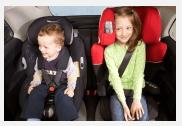 Auto Kindersitze bei Airport Taxi Service Basel.