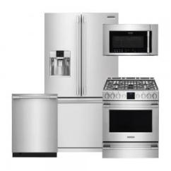 Frigidaire Kitchen Package Appliences Fpid2498sf Fpbs2777rf Fpbm3077rf Fpgh3077rf Pro 4 Piece Stainless Steel Style