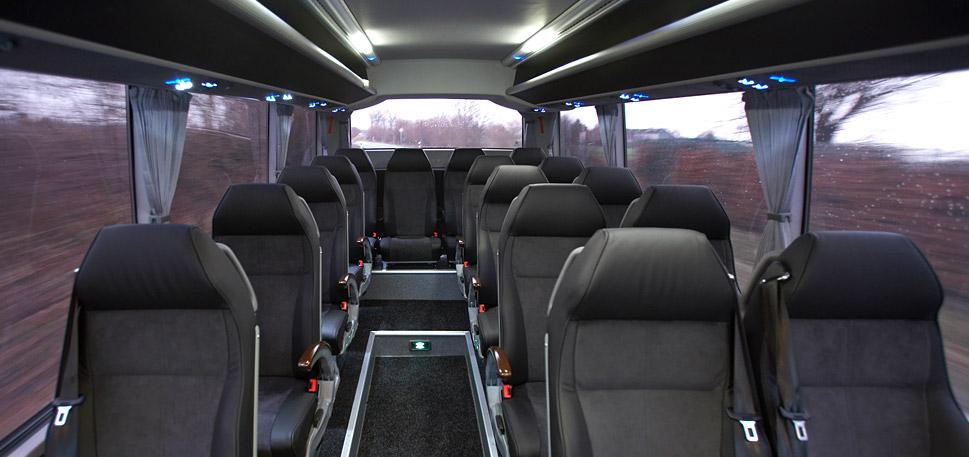 Mercedes Bus 50 seat vip