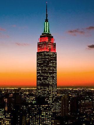 AIRPORTNEWS EZEIZA  El Empire State Building de Nueva York estrenar luces en octubre