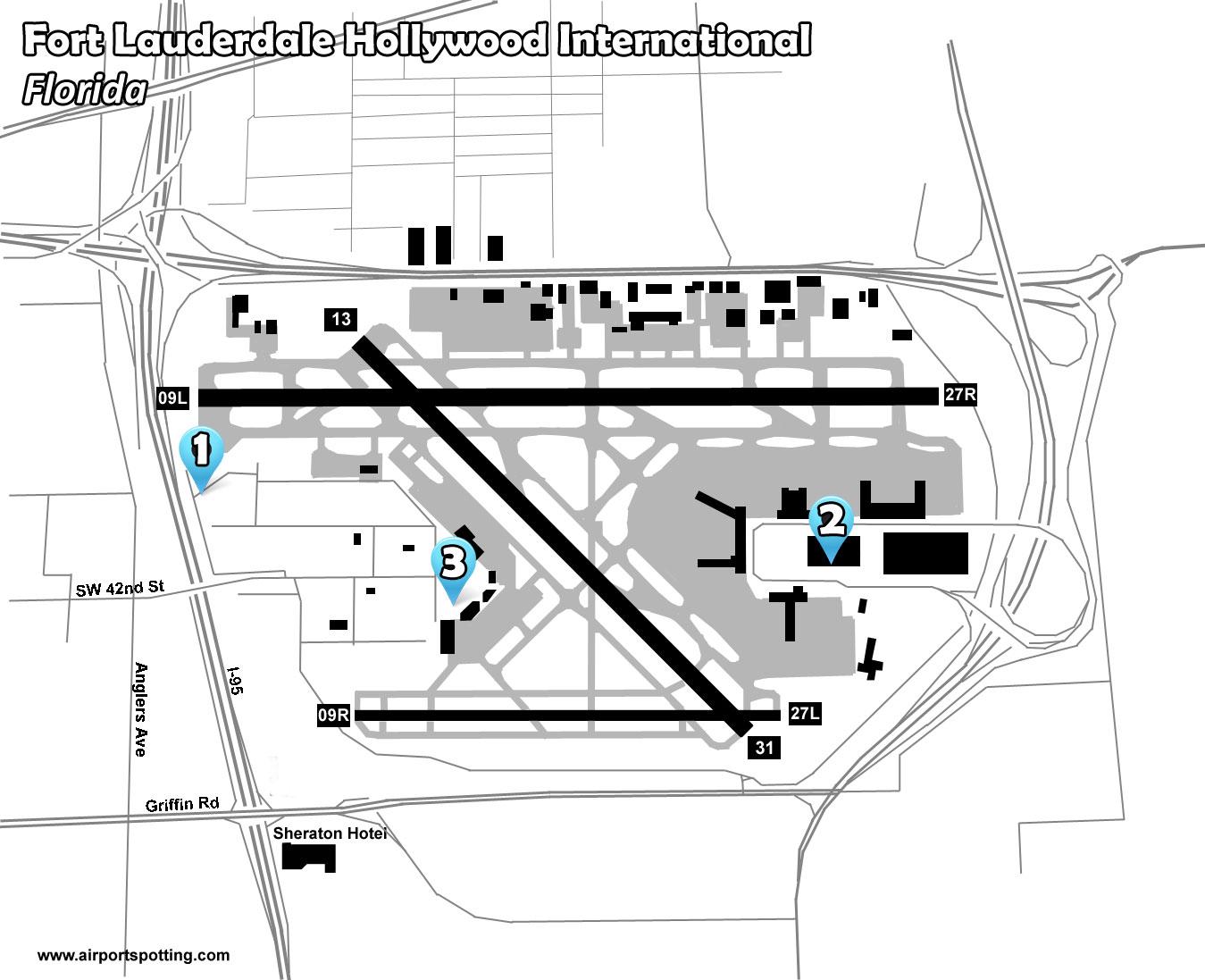Fll Fort Lauderdalehollywood International Airport