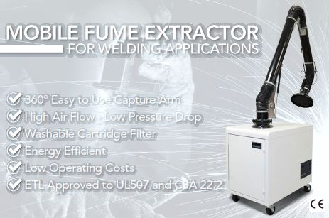 Fume Extractor Air Filtration Cleanairsolution