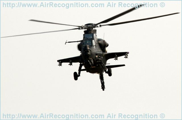 Z-10 WZ-10 attack fighting helicopter technical data sheet specifications intelligence