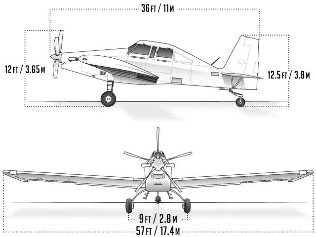 S2R-660 Archangel ISR & Light Attack Aircraft