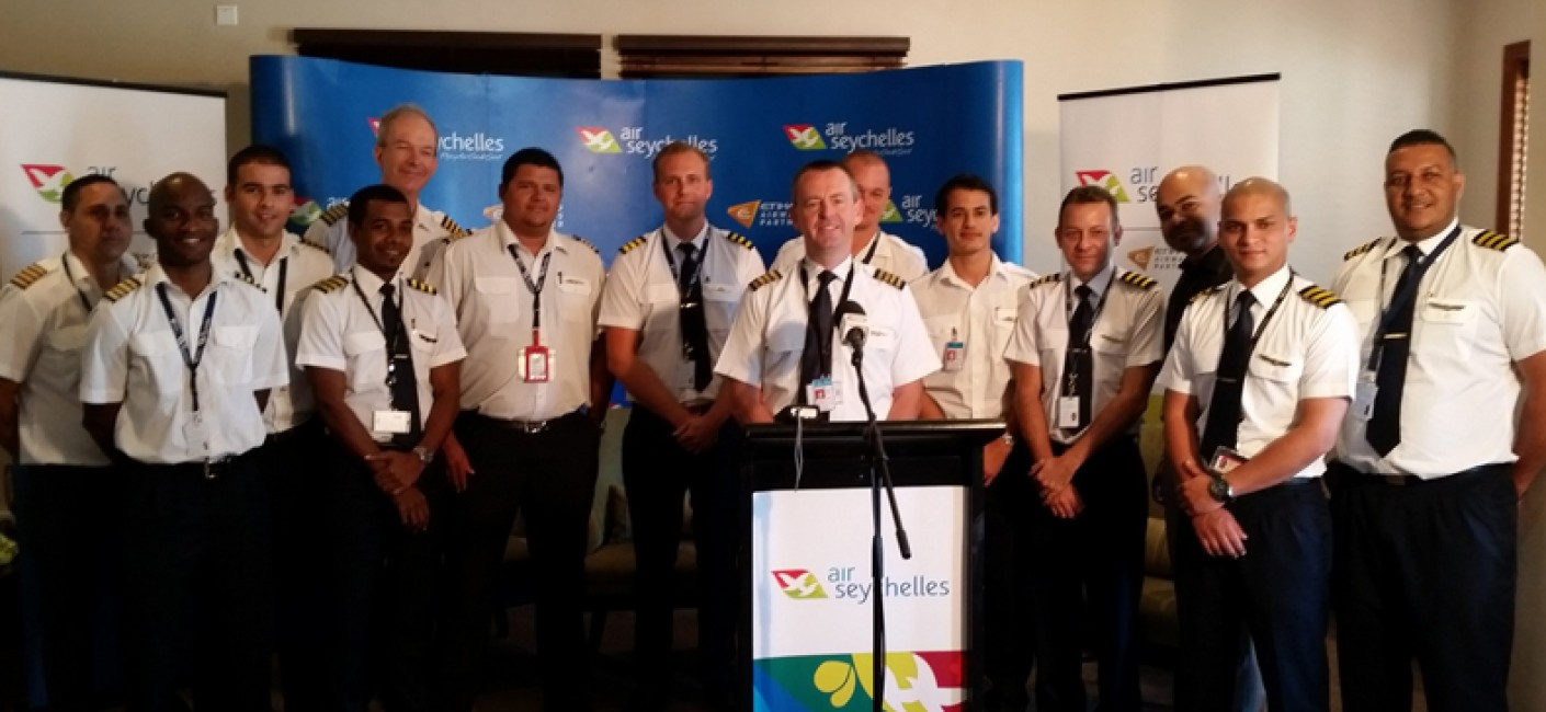 Air Seychelles hosts pilots roundtable with media