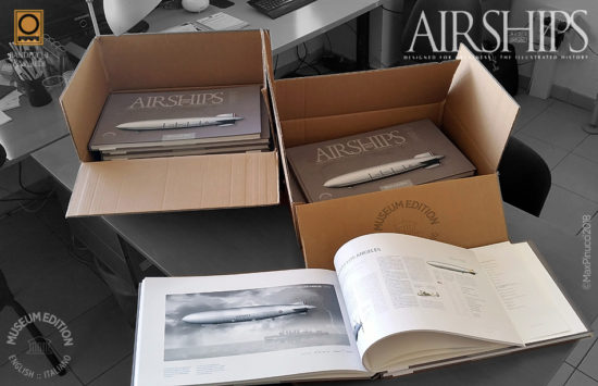 Max Pinucci Airships Book