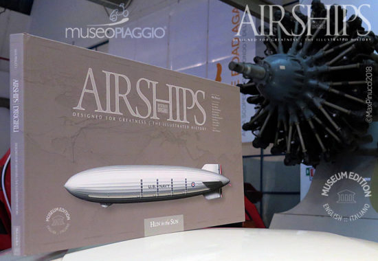 Max Pinucci Airships Book - Museum Edition