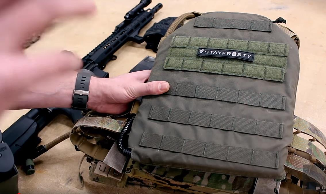 IcePlate MOLLE Sleeve  Robo Gear Review  AMNB News