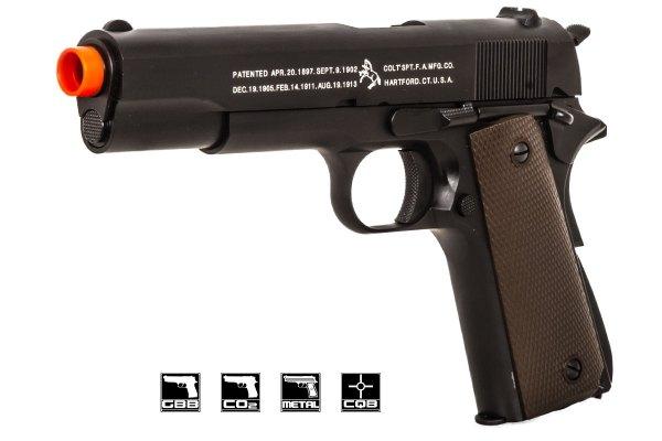 Colt Wwii 1911 Government Pistol Gbb Airsoft Gun Kjw
