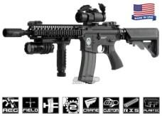 Airsoft GI G4-A2 Blazing Hog w/ Daniel Defense SOPMOD RIS Blowback Version Airsoft Gun
