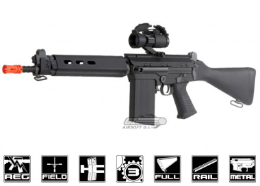 Lancer Tactical FAL Carbine Airsoft Gun