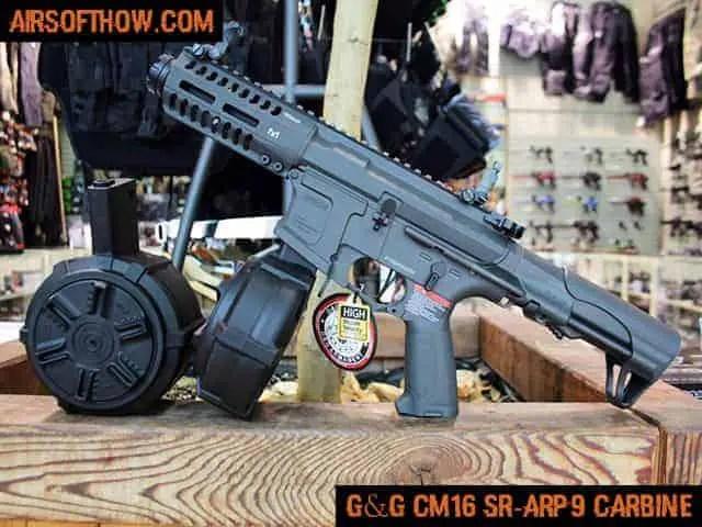 G&G CM16 SR-ARP9 CARBINE- Airsoft gun