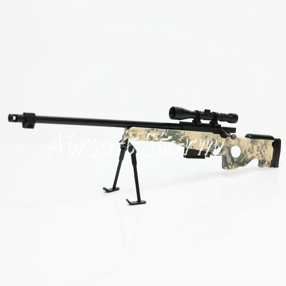 Army Force Af Mc Toy Dummy Model Kit 1 6 L96 Metal Gun Digital Acu Camo