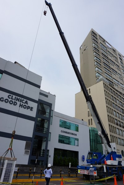 instalacion sistema de aire acondicionado clinica good hope en lima peru airson ingenieros 3