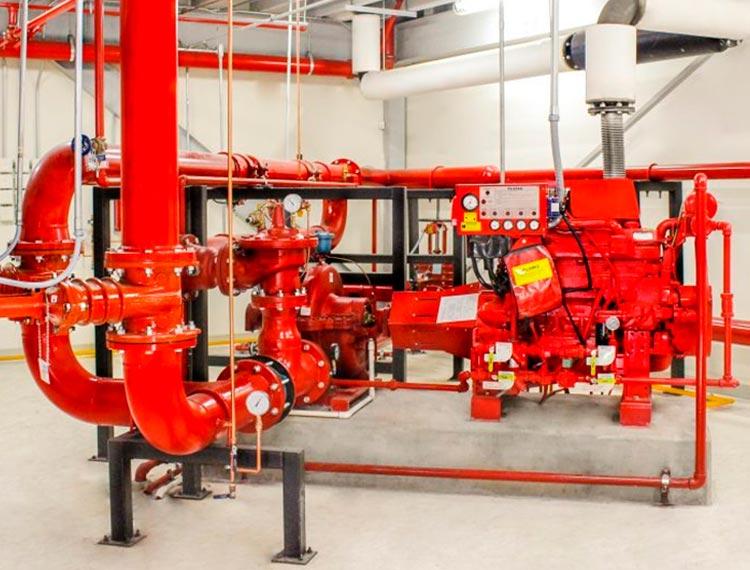 instalacion sistema de red de agua contra incendios en lima peru airson ingenieros