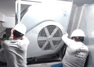 mantenimiento sistema de aire acondicionado adex en lima peru airson ingenieros 4