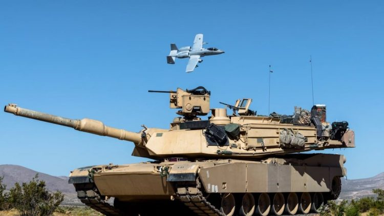 Warthog and Abrams