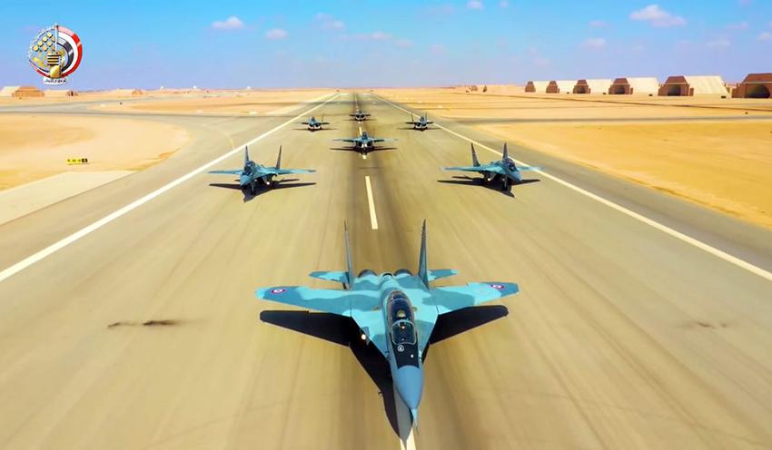 MiG-29 elephant Walk