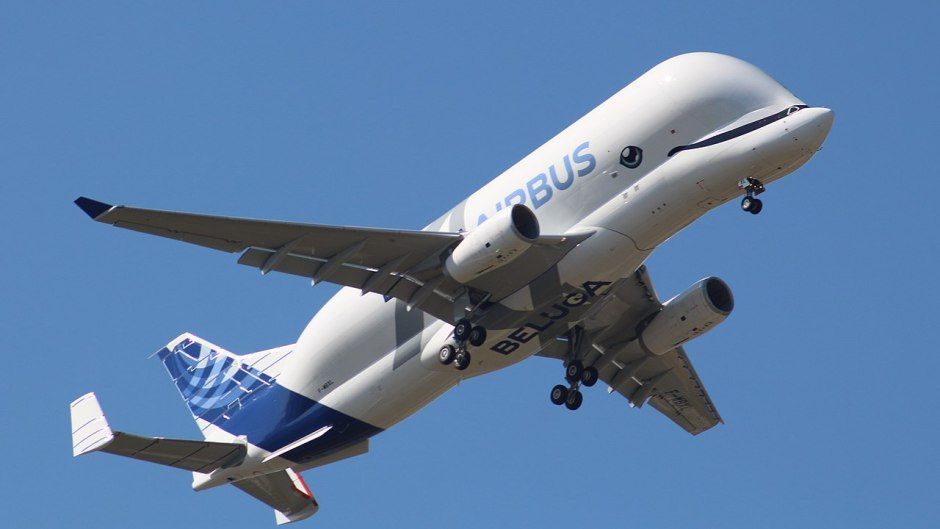First Flight of BelugaXL