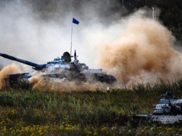 Puluhan awak tank T-72B3 di Abkhazia ikuti tahapan kualifikasi Tank Biathlon