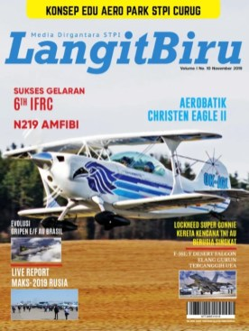 Cover Langit Biru Volume I No 10