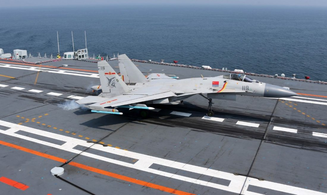 J-15 Flying Shark_airspace review