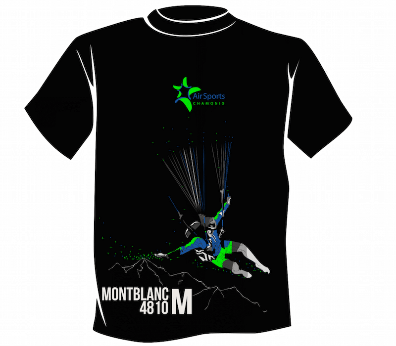 T-Shirt Air Sports – Mt Blanc –