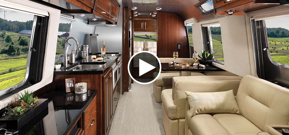 The New 33foot Classic Travel Trailer  Airstream