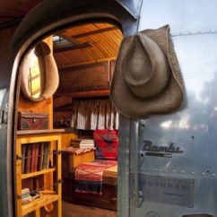 Rustic Sleeper Sofa The Brick Beds ** Must See 1961 Airstream Bambi – Designed For Ralph ...