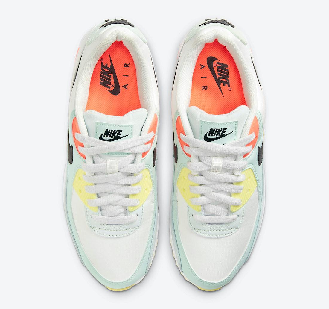 Nike_Air_Max_90_Summit_White_Barely_Green_Bright_Mango_CV8819-101_P3