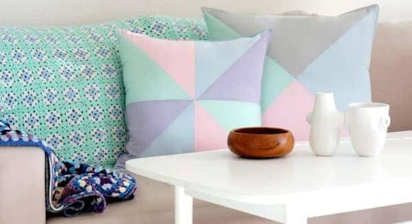 pastel oturma odası renk trendi