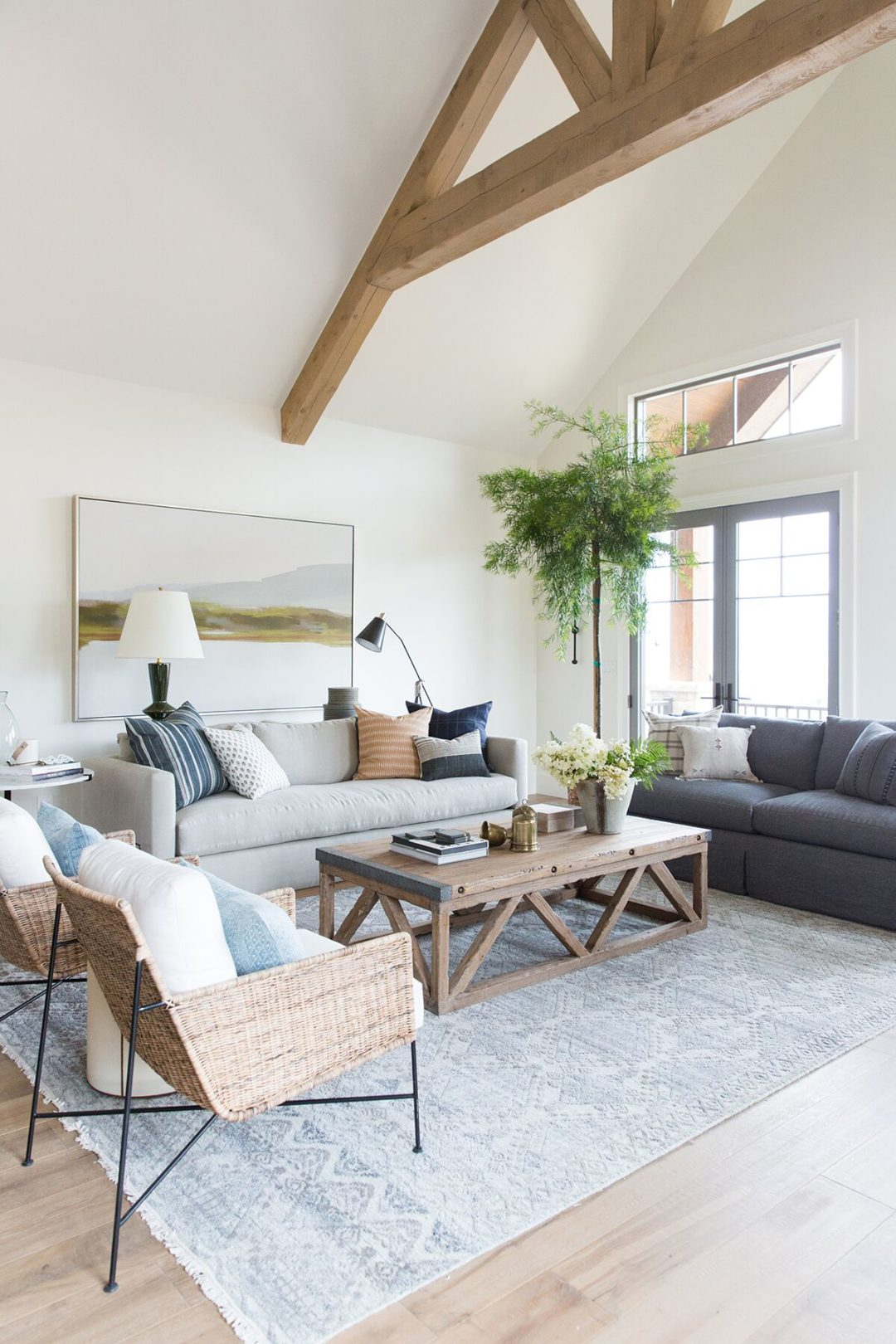 35 Rustic Living Room Ideas Modern Farmhouse And Chic Decor