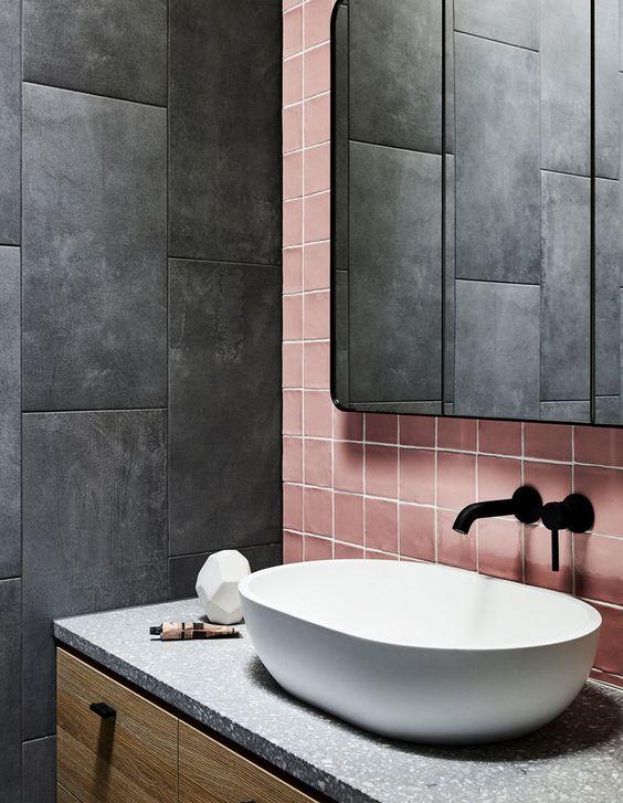 35 dark bathroom ideas industrial
