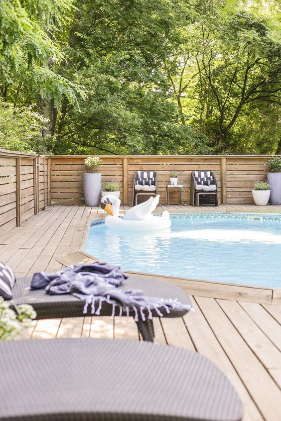 pool deck ideas for your backyard